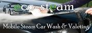 Mobile steam car wash & valeting