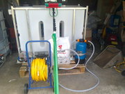 WATERFED POLE CLEANING SYSTEM